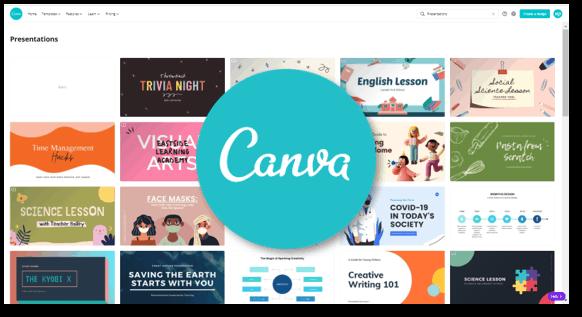 אתר לטמפלטים מעוצבים: Canva