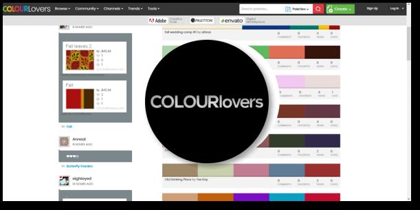 השראה לפלטות צבעוניות - COLOURlovers