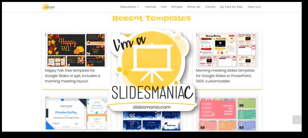 אתר לשכפול מצגות Slidesmaniac