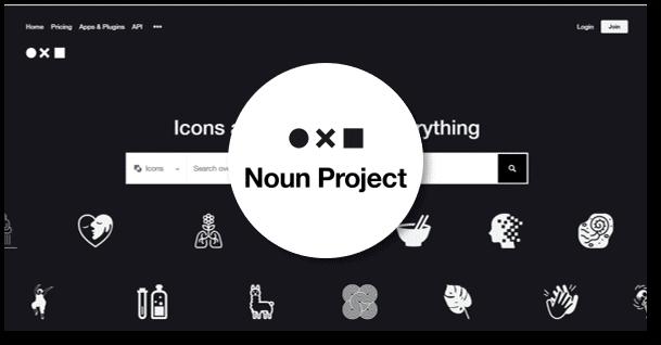theNounProject: מאגר אייקונים